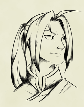 Edward Elric Chang by BeJuled