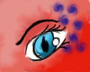 Eye Experiment by Bluegrove6
