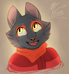 [Request] Nightflame Bust by Flora-Tea