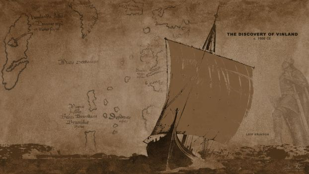 The Discovery Of Vinland by PlaysWithWolves