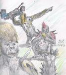 Gwarillas by Lord-Triceratops