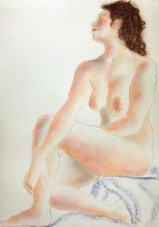 female nude study 31 by CpointSpoint
