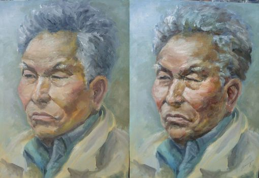 oilpainting portrait1 by benryyou