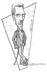Hugh Laurie by toongsteno