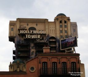 The Hollywood Tower Hotel by VanessaTSLarsen