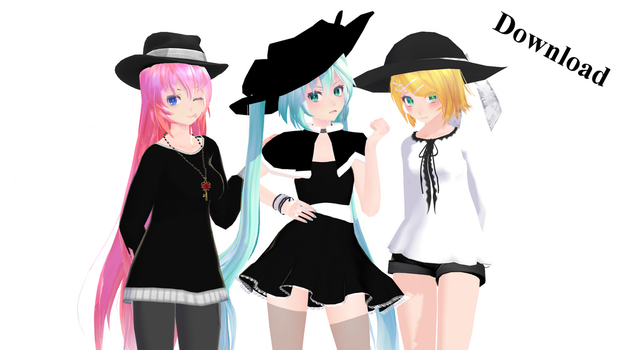 .:Coven Models 200+ Watchers Gift:. by Nek0Miki