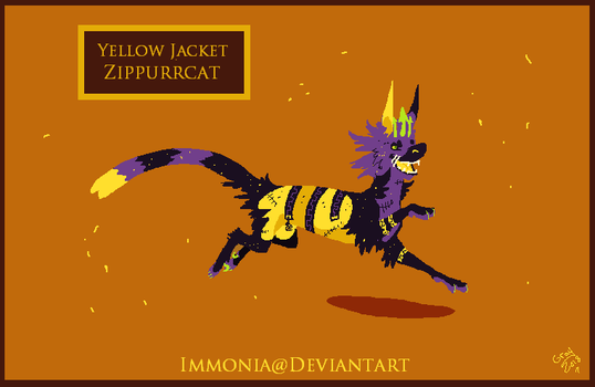 Zippurrcat: Yellow Jacket [Open] by Immonia