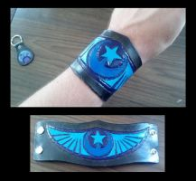 New Lunar Republic leather bracelet by MisterVezz