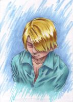 OP - Sanji - contemplation by taintedsilence