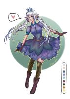 [CLOSED] Free Adopt Raffle   Elf Girl by Astral-Chan