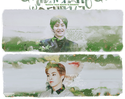 'MATCHA BREEZE' Pack Quotes XIUMIN fr.GENIEDYO by GenieDyo