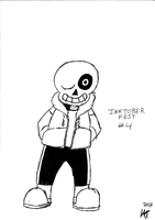 Undertale - Sans by JMK-Prime
