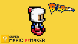 Super Mario ReMaker - Bomberman by PacManFan1980