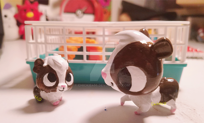 2 new chewy customs (VIDEO link below) by Chickie456