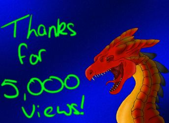 Thanks for 5,000 pageviews by WordOfChen