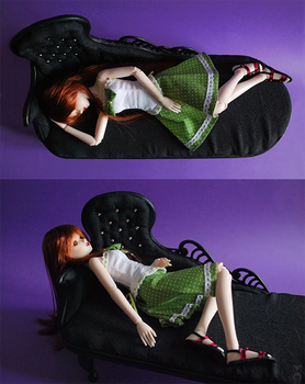 MSD Gothic Chaise Longue by Katja-dollab
