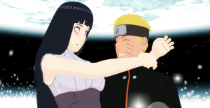 Present for a friend NaruHina by EMJ142