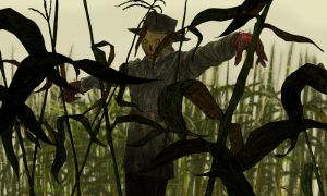 The Scarecrow by clayrodery