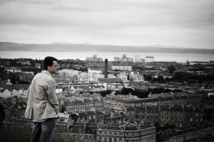 Man on Leith by doches