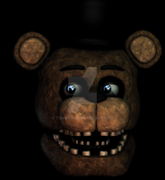 WFreddy [Blender FNaF2] W.I.P by TRAWERT