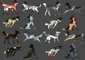canine adoptables  {OPEN 2/16} by HappyHappyA