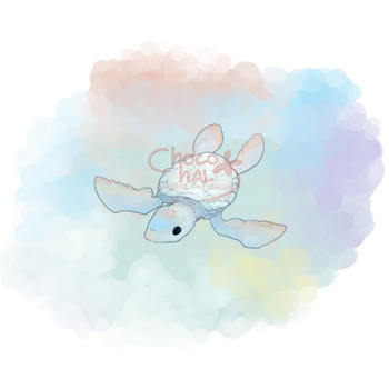 Albino Turtle by ChocoHal