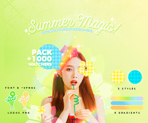SUMMER MAGIC | SPECIAL +1000 WATHERS by Mondai-Girl