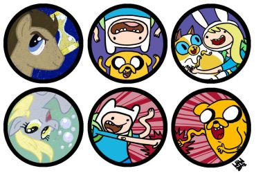 Adventure Buttons by water-wing