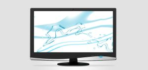 Black Monitor With Glass by ait-themes