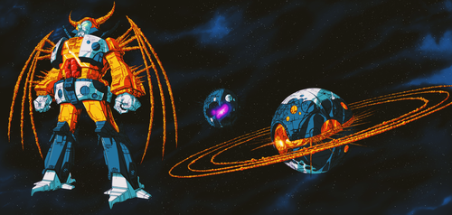 Unicron - Motion Picture Version by GrungeWerXshop