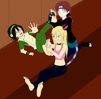 ticklish Toph 2.0 by Sideral-Laugh by neverb4