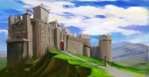 Castello up by Fenrir--the-2nd
