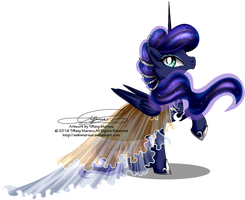 Gala Fashion 2016 - Princess Luna by selinmarsou