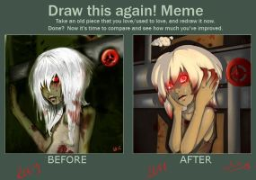 Draw this Again Meme by LuckyXClover