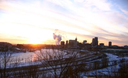 St. Paul Skyline - 2 by fablehill