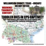 Williamson County Texas Unsafe Copy by jbeverlygreene