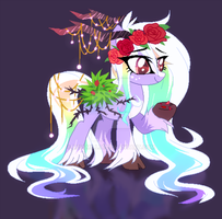 Rose Pony Adopt  Auction CLOSED by fluffyfluffx