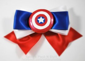 Captain America Bow by sakkysa