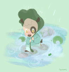 Rain by punny-cat