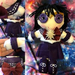 Sailor Saturn Rag Doll by ColorfulCupcakez