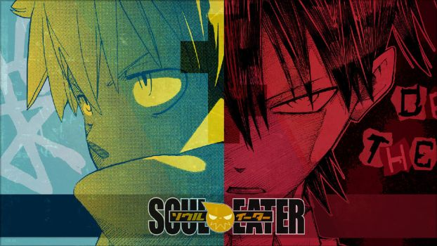 Soul Eater - ''Black and Death'' (Wallpaper 01) by Dr-Erich