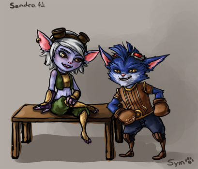 moar yordles by TheSym
