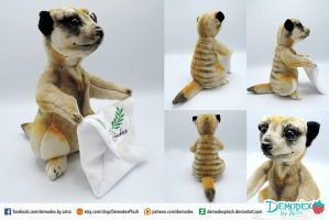 Meerkat plush by DemodexPlush