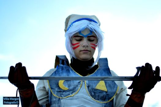 See what i've become - Fierce Deity Link cosplay by Grenier-Illiane