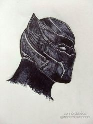 T'CHALLA by connordebeast