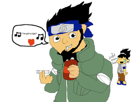 Why Asuma Sucks at Love Songs by That-Wacky-Whovian