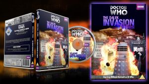 Doctor Who - The Dalek Invasion of Earth DVD Cust. by GrantBattersby
