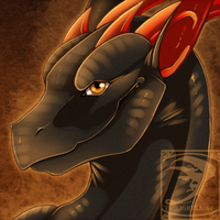 Icon Comish - Kind Grin by TwilightSaint