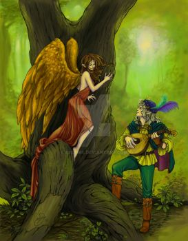 The Bird and the Bard by AniHime