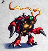 Tentomon by CasperCrow